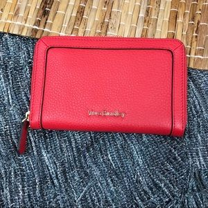 Vera Bradley Red Leather Wallet